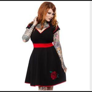 Sourpuss dollface dress
